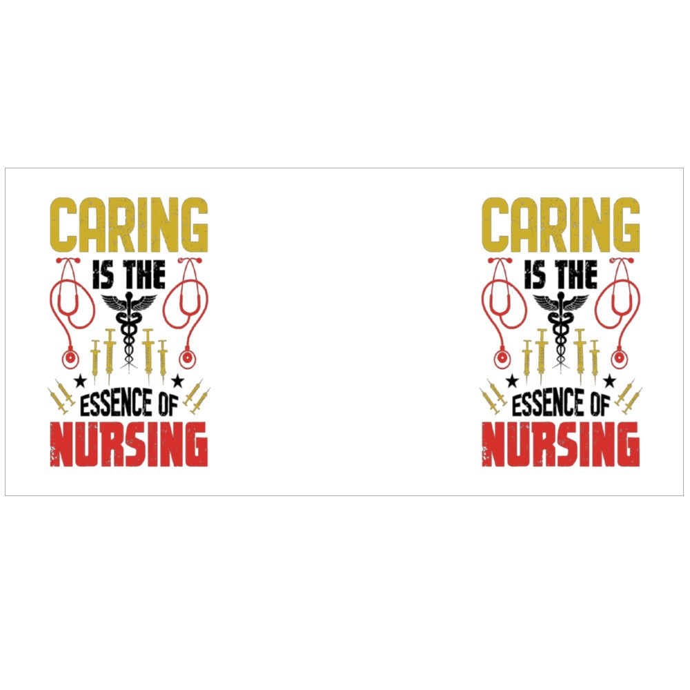 Caring Is the Essence of Nursing Colour Mugs