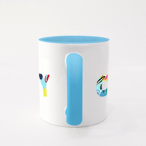 Creativity and Inspiration Colour Mugs