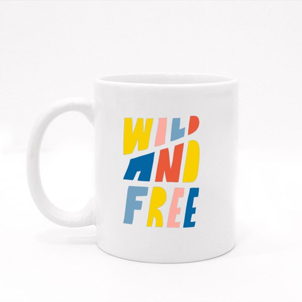 Wild and Free Colour Mugs