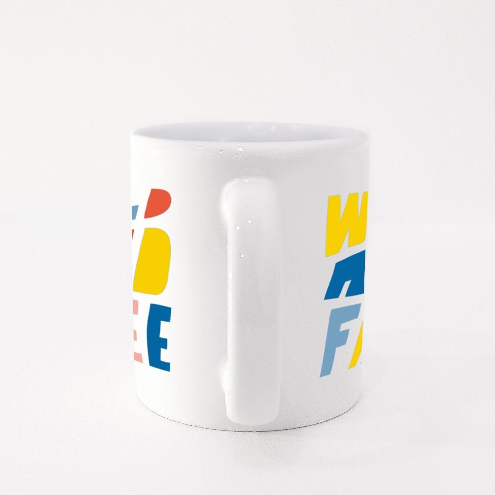 Wild and Free Colour Mugs
