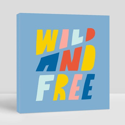 Wild and Free Canvas (Square)