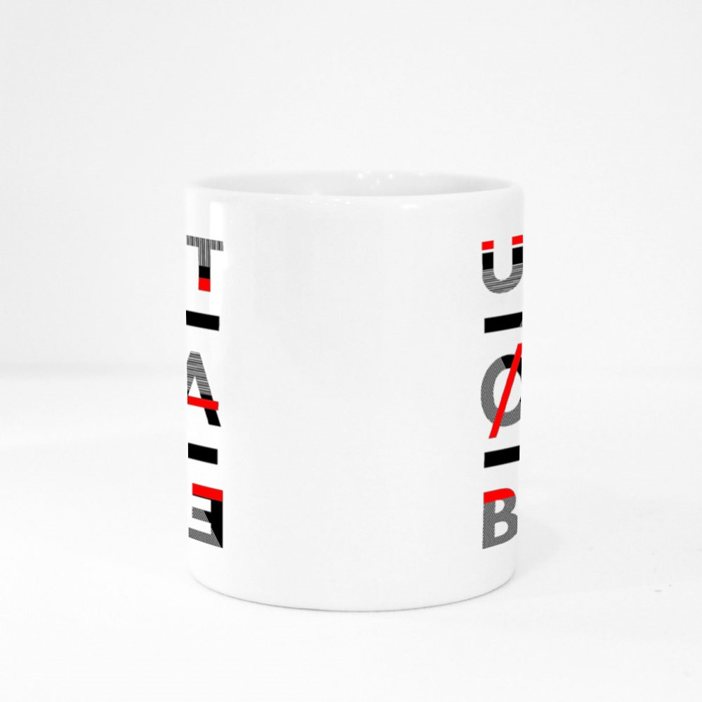 Unstoppable Abstract Geometry Colour Mugs