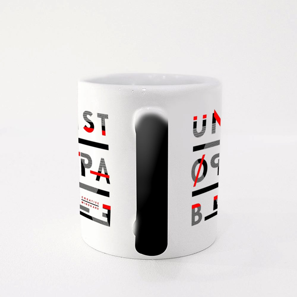 Unstoppable Abstract Geometry Magic Mugs