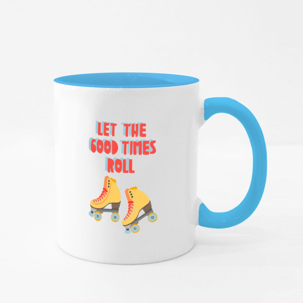 Let the Good Times Roll Colour Mugs