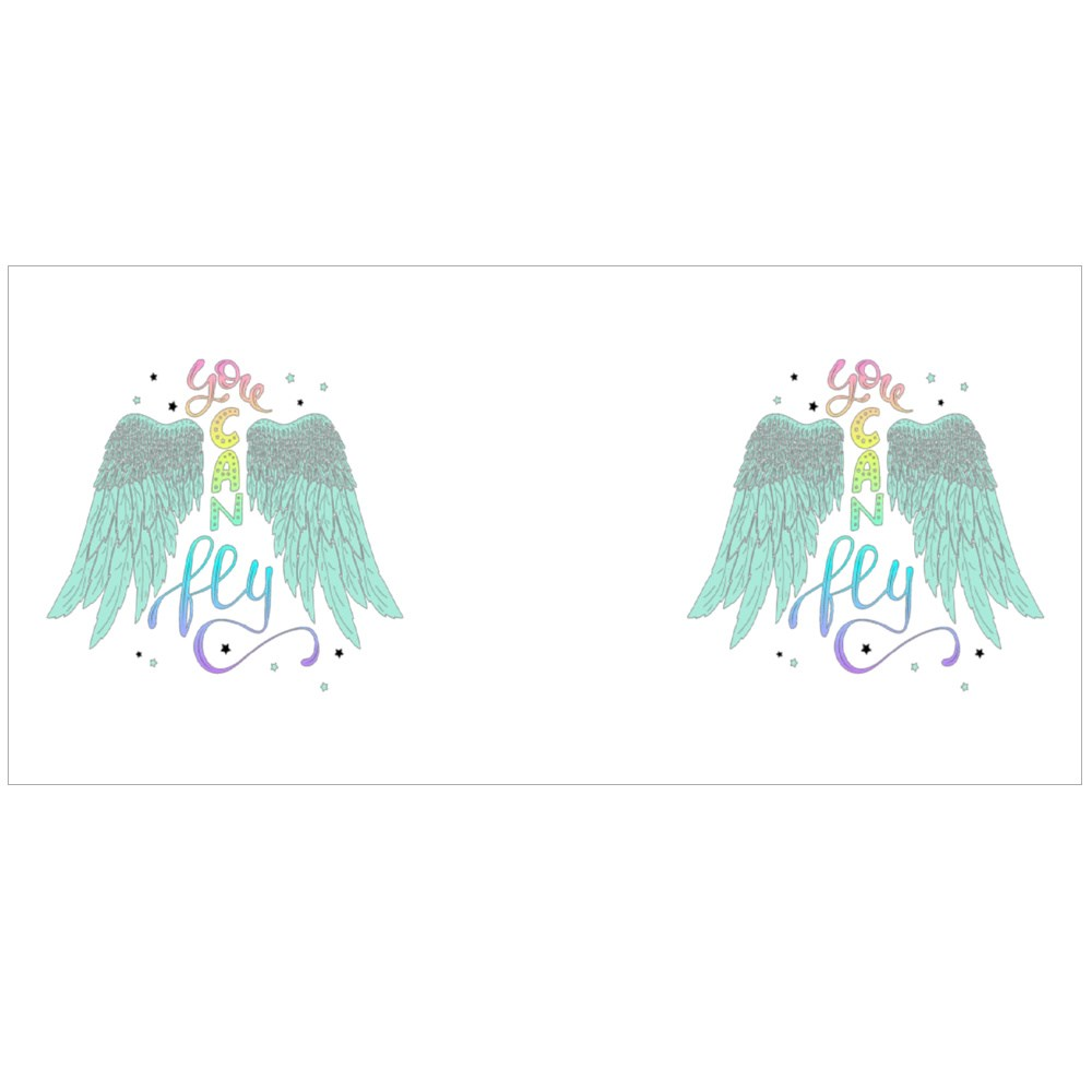 You Can Fly. Inspirational Quote About Freedom Magic Mugs