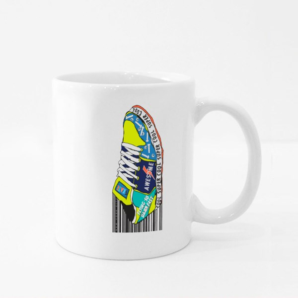 Super Cool Skater Shoe Colour Mugs