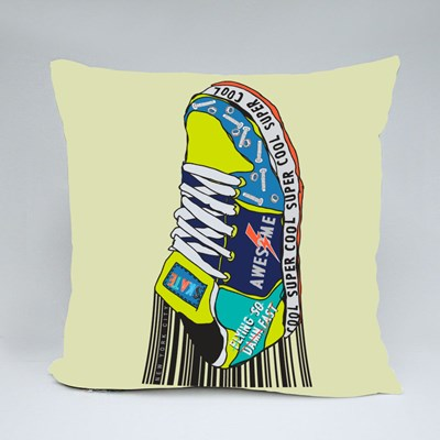 Super Cool Skater Shoe Throw Pillows