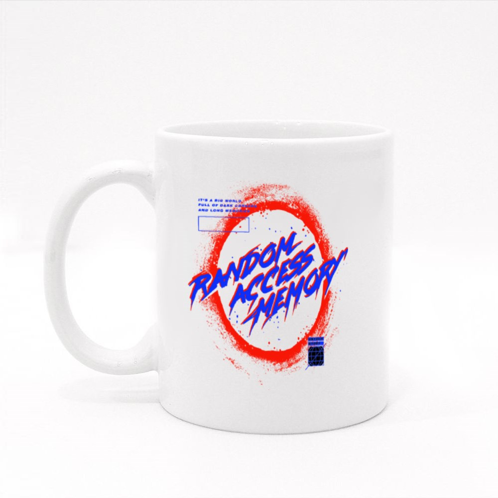 Black Hole With Glow Illustration With Slogan Print Design Colour Mugs