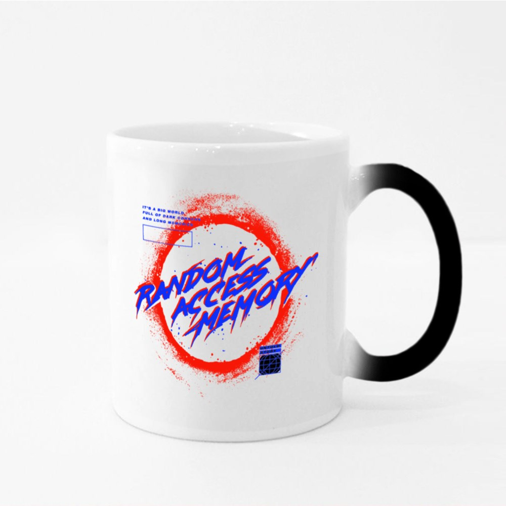 Black Hole With Glow Illustration With Slogan Print Design Magic Mugs