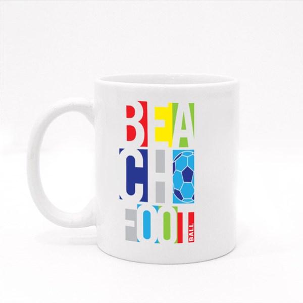 Beach Football Colour Mugs