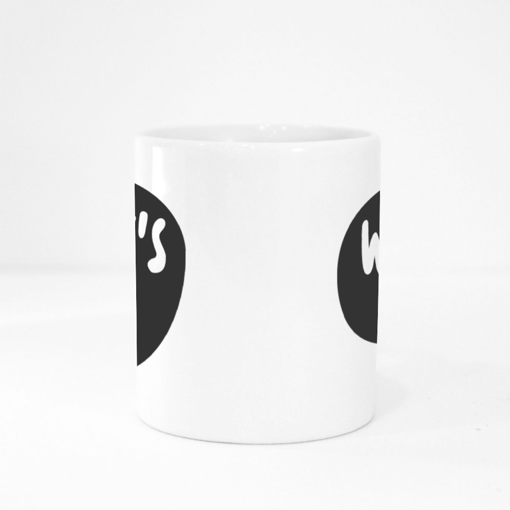What's up Sticker for Social Media Content Colour Mugs