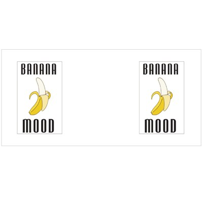 Banana Mood Tshirt Print Magic Mugs