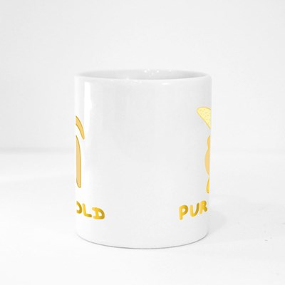 Pure Gold, Banana. Magic Mugs