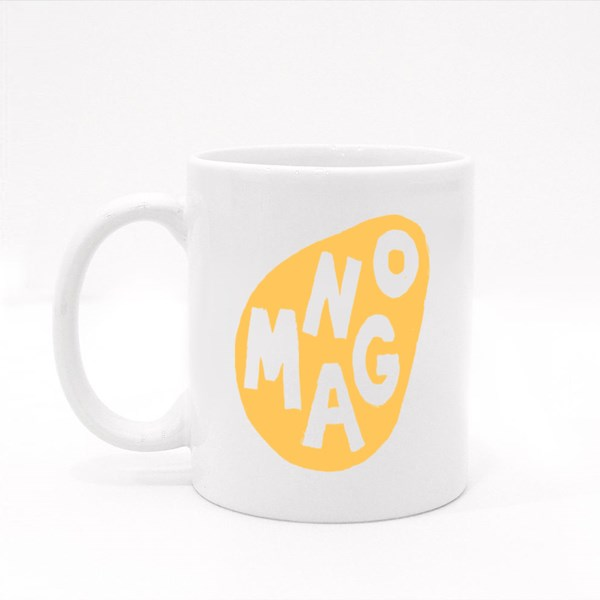 Grungy Fresh Mango Sketch Colour Mugs
