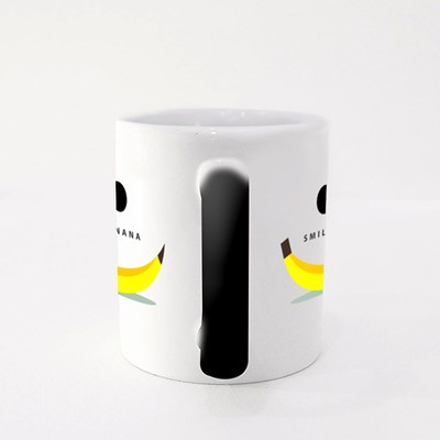 Banana Smile Magic Mugs
