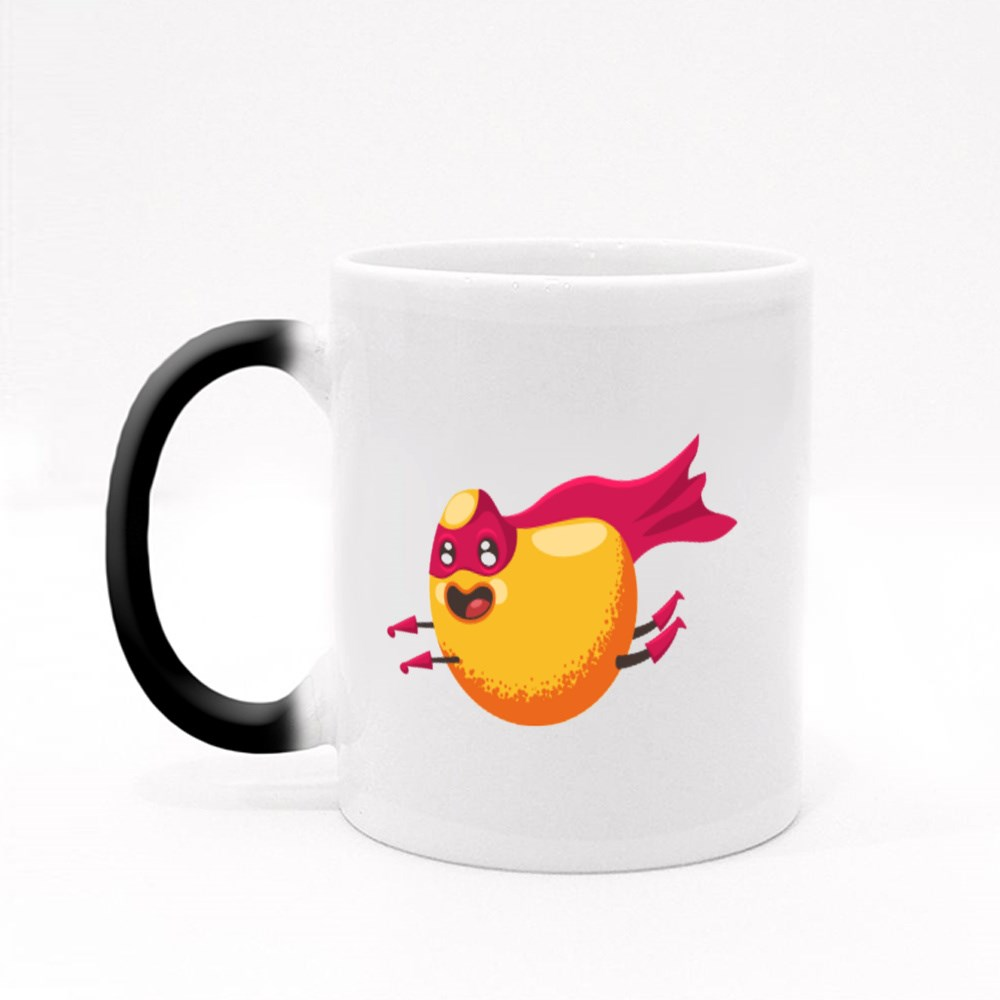 Cute Mango Superhero Magic Mugs