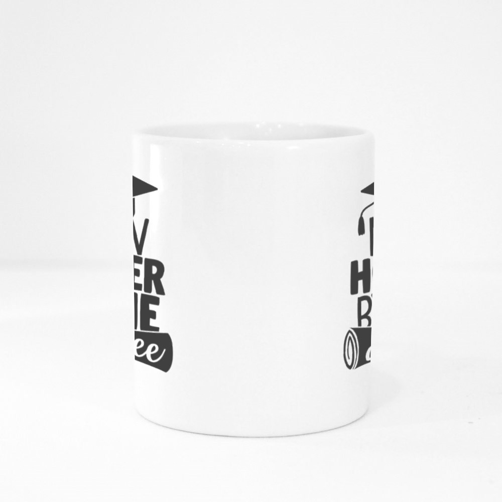 Now Hotter by One Degree   Graduation Quote Colour Mugs