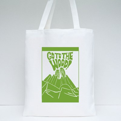 Calls for a Time Outside and Go to the Forest Tote Bags
