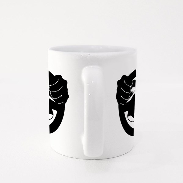 Dont Drink and Drive Icon Illustration on White Colour Mugs
