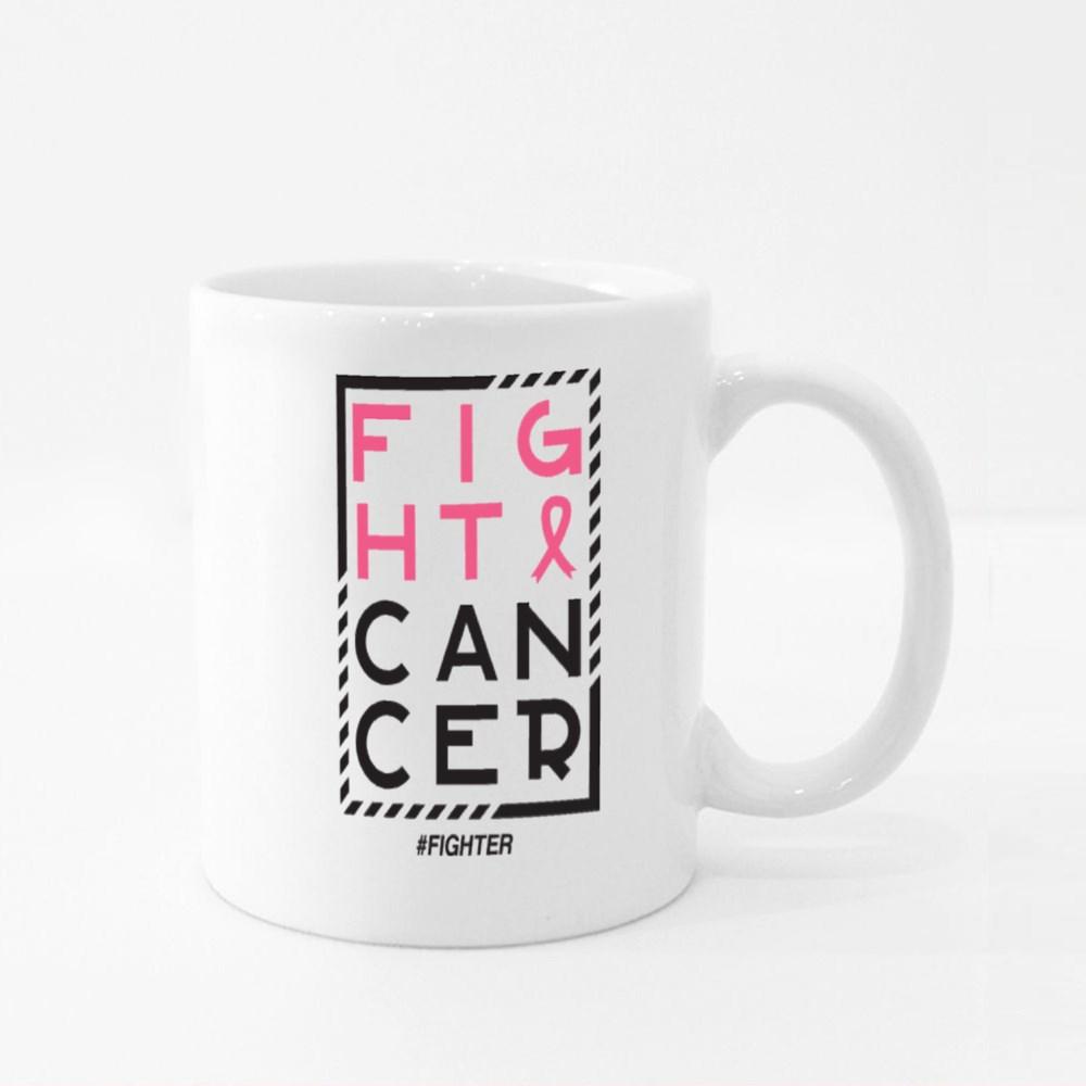 Fight Cancer Colour Mugs