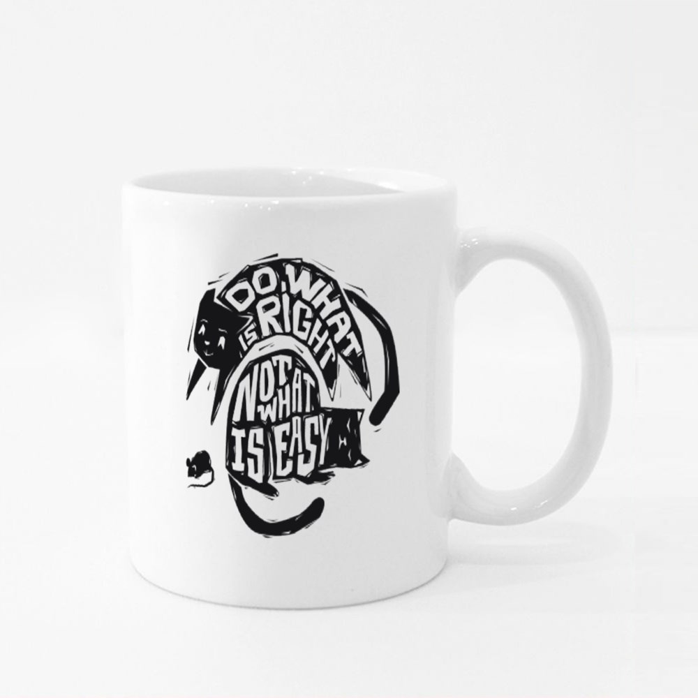 Do What Is Right Not What Is Easy Colour Mugs