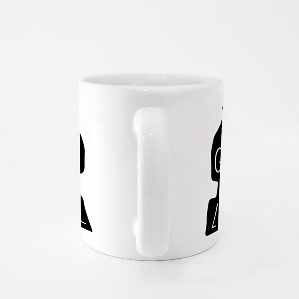 Grown With Love. Artistic Hand-Drawing Food and Healthy Colour Mugs