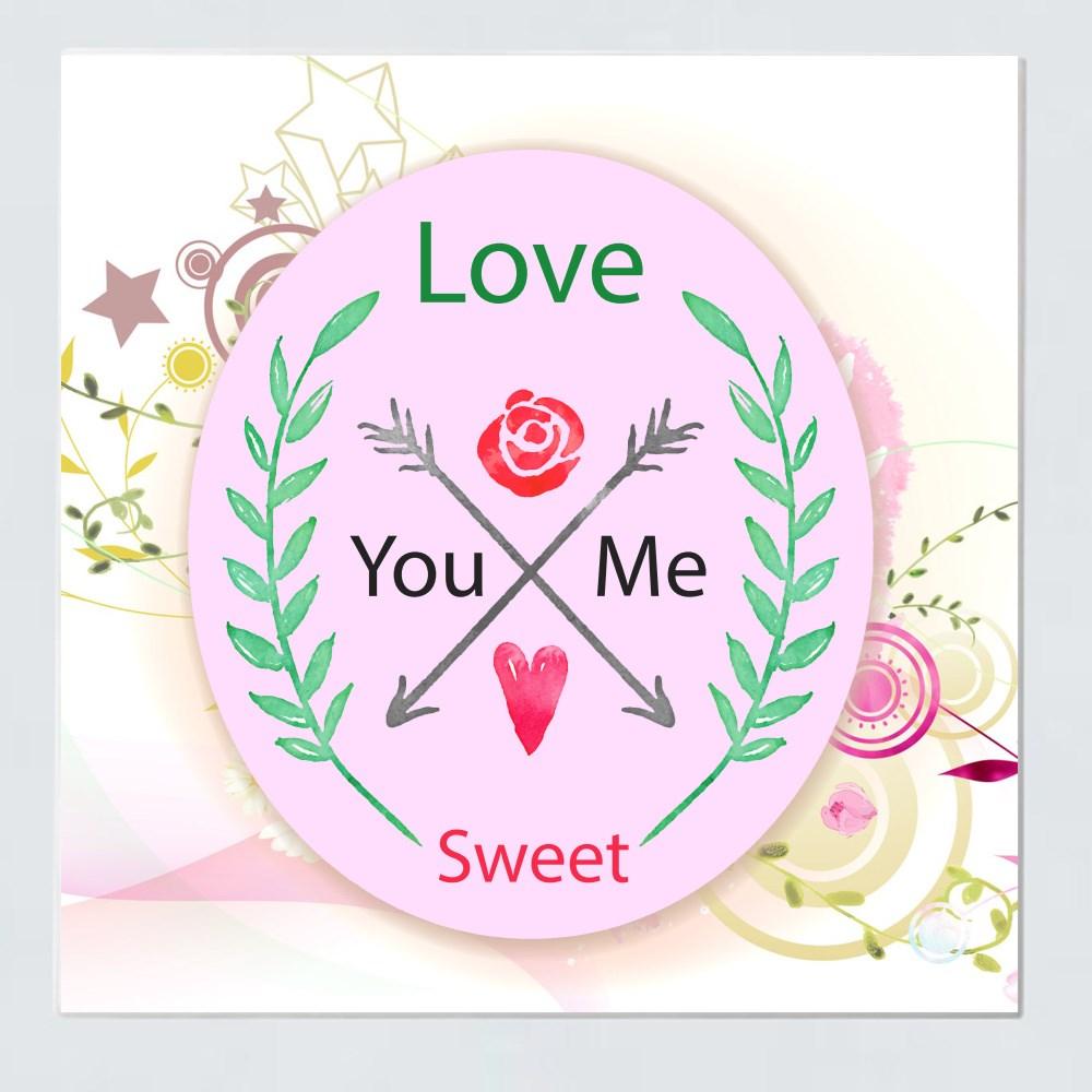 Ceramic Tiles > Ceramic Tiles (Square) > Love Sweet You and Me