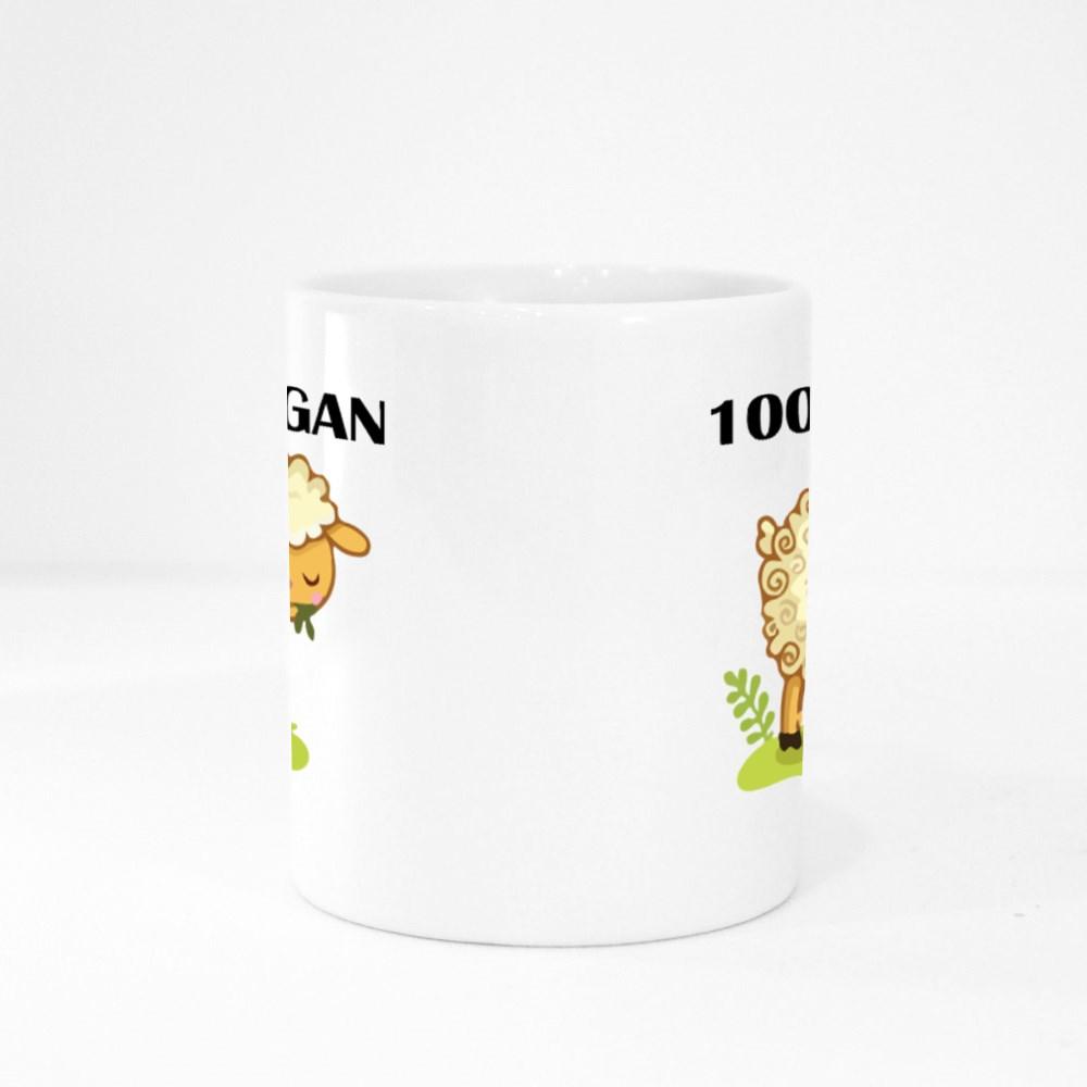 Vegan-Vegetarian Colour Mugs
