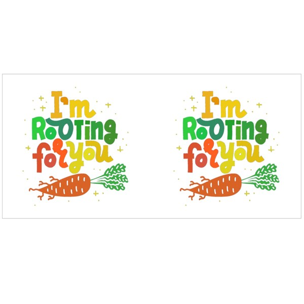 I'm Rooting for You. Colour Mugs