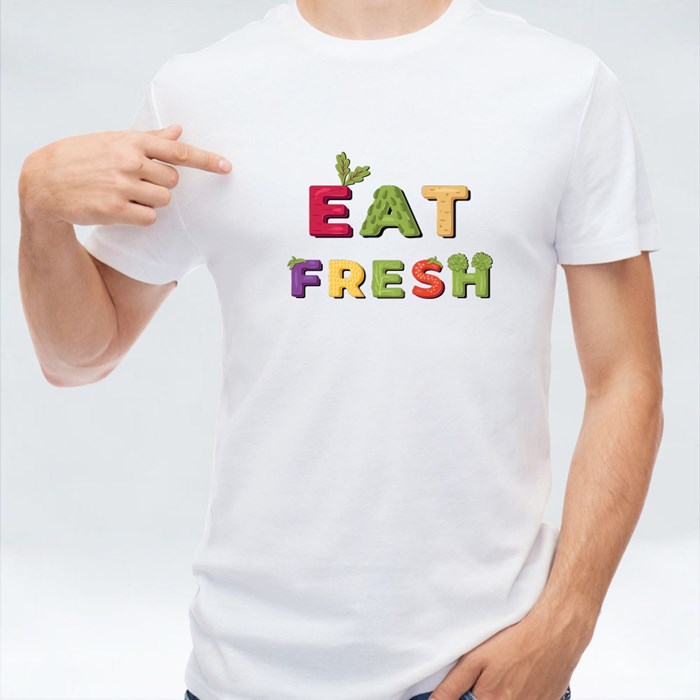 Eat Fresh - Lettering T-Shirts