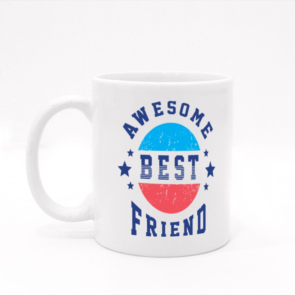 Awesome Best Friend. Colour Mugs