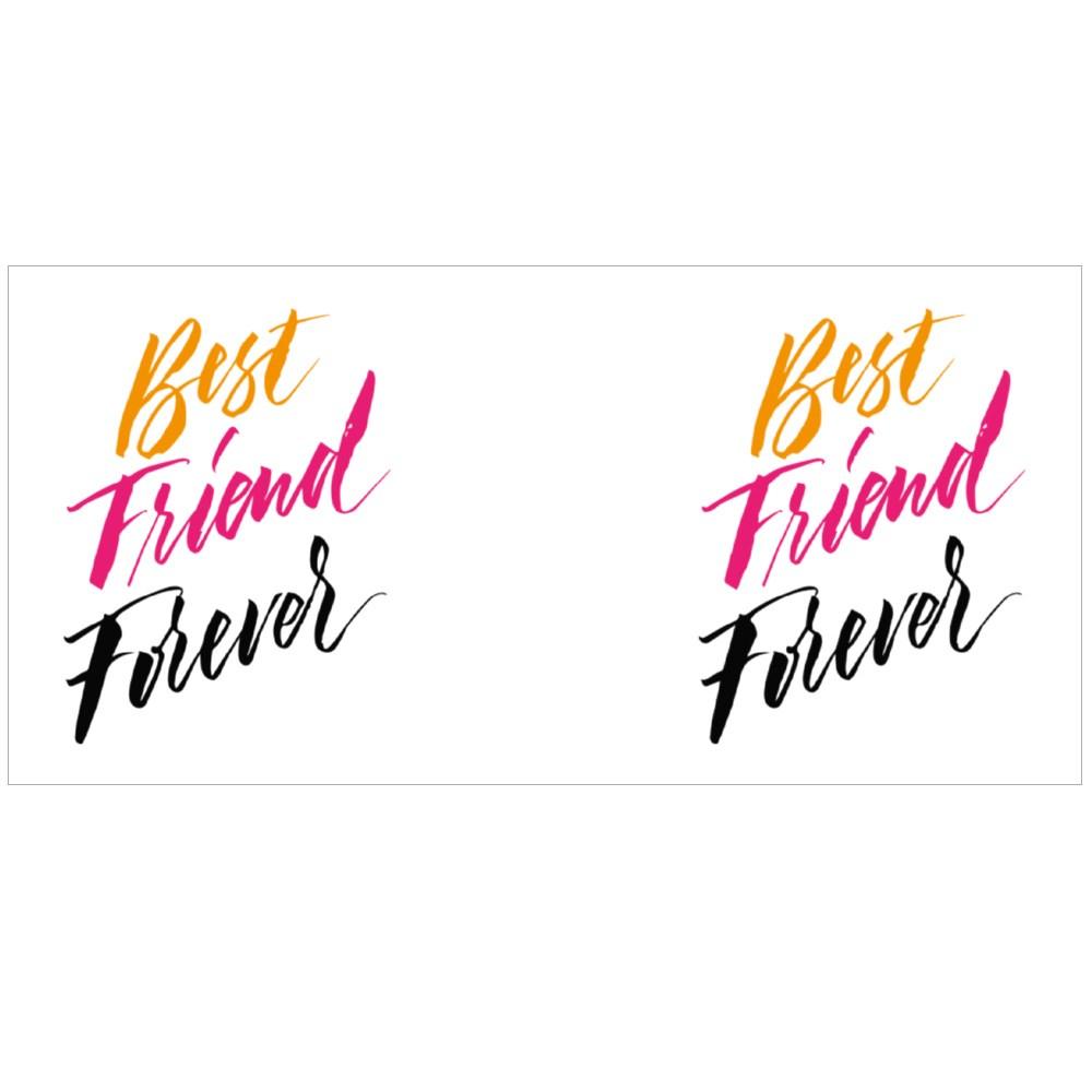 Best Friend Forever. Colour Mugs