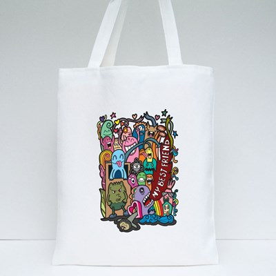Happy Friendship Day Tote Bags