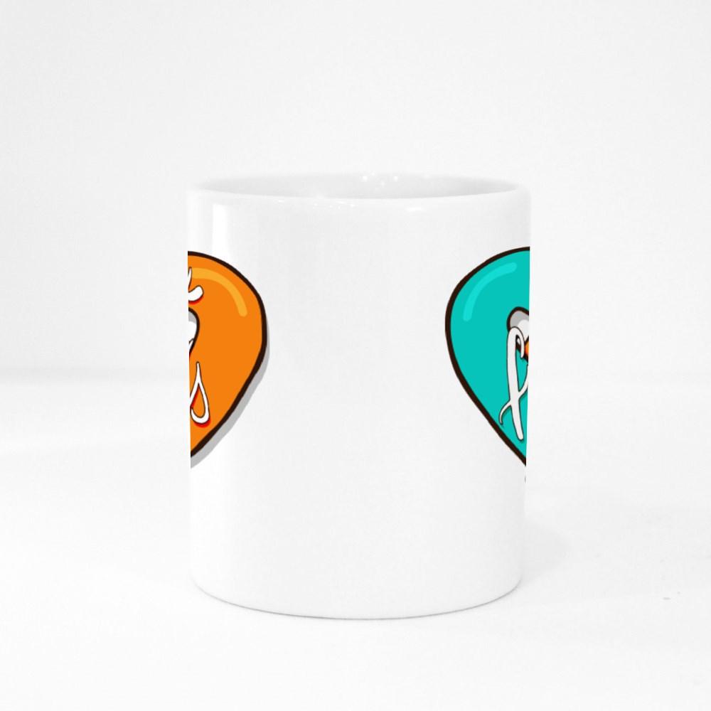 Best Friends Greeting Colour Mugs