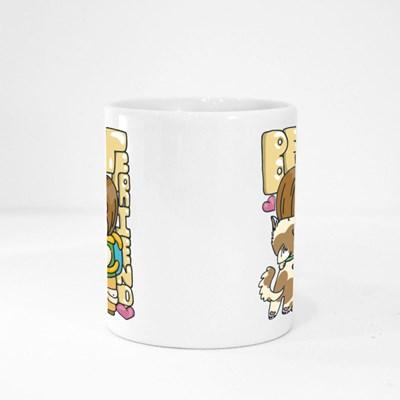 Best Friend. Cute Cartoon Animal Magic Mugs