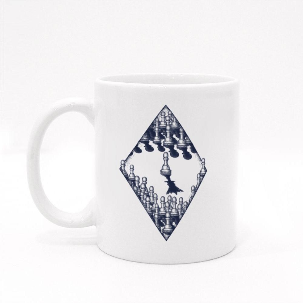 Symbol of Motivation, Success and Leadership Colour Mugs