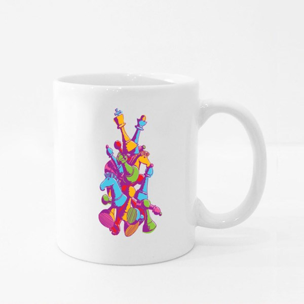 Super Chess Colour Mugs