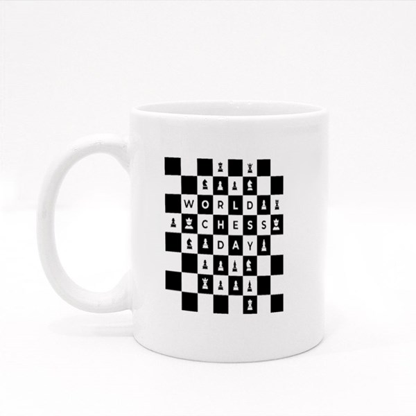 Chess Tournament, Match, Game Colour Mugs