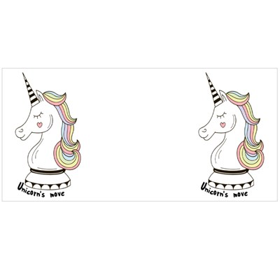 Unicorn Move, Pop Art Illustration Magic Mugs
