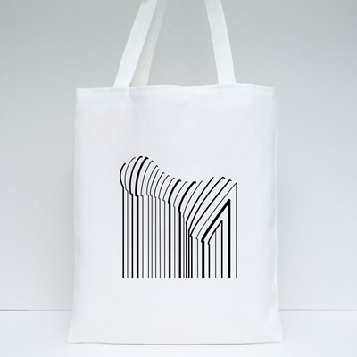 Black and White Pop Art Geometric Pattern With Chess Tote Bags