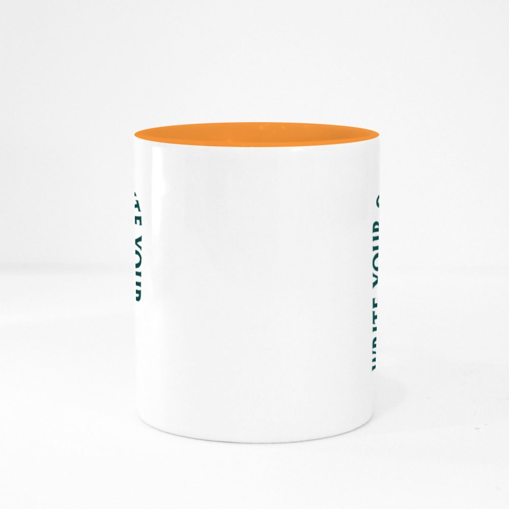 Write Your Own Story, Courage Above Fear Colour Mugs