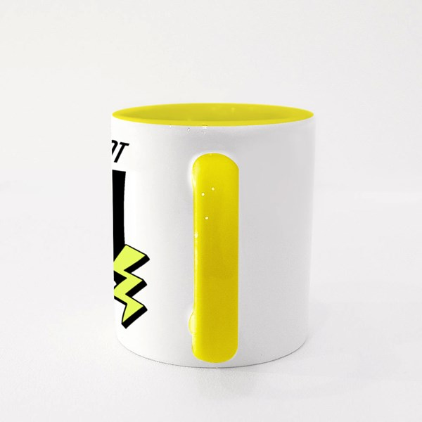 Eat What You Love  . Colour Mugs