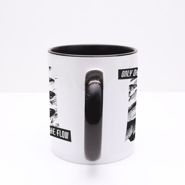 Quote Typographical Background. Colour Mugs