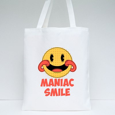 Maniac Smile. Prints on T-Shirts, Sweatshirts, Cases for Mobile Phones Tote Bags