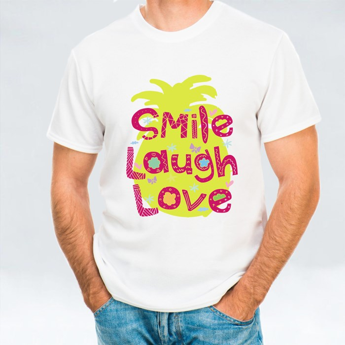 Smile Laugh Love T-Shirts
