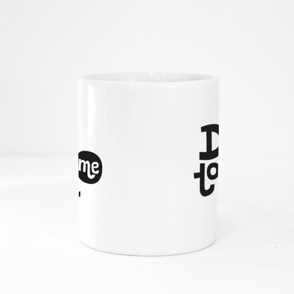 Don't Touch Me - Funny, Comical, Black Humor Quote Colour Mugs