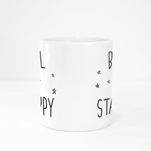 Cool T Shirt Design in Doodle Style Colour Mugs