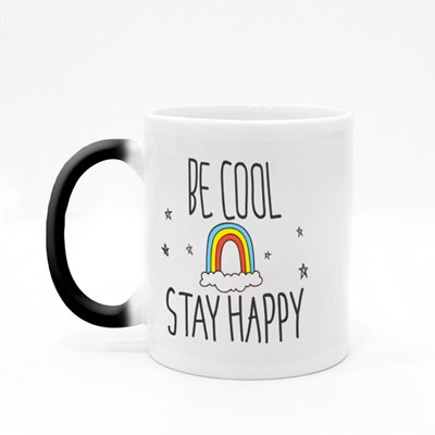Cool T Shirt Design in Doodle Style Magic Mugs