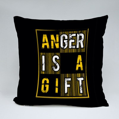 Anger Is a Gift Throw Pillows