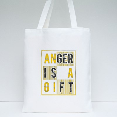 Anger Is a Gift Tote Bags